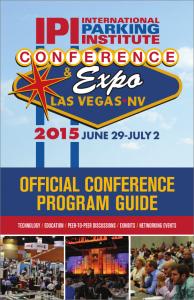 2015 IPI Conference Program Guide