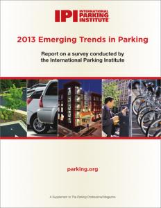Emerging Trends 2013