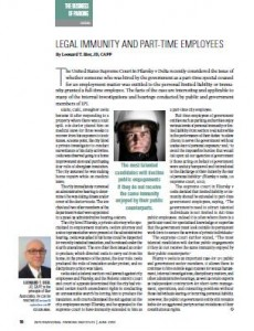 TPP-2012-06-Legal Immunity and Part-Time Employees