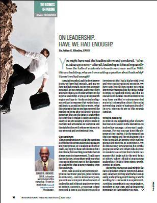 On Leadership Parking