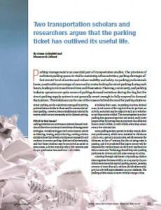 TPP-2013-04-On Abolishing Parking Citations
