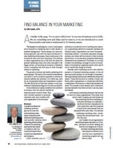 TPP-2013-05-Find Balance In Your Marketing