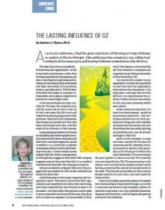TPP-2013-05-The Lasting Influence of Oz