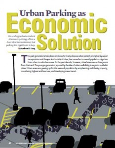 TPP-2013-12-Urban Parking as Economic Solution