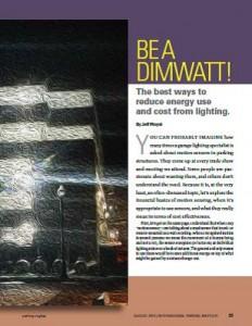 TPP-2014-08-Be a DimWatt