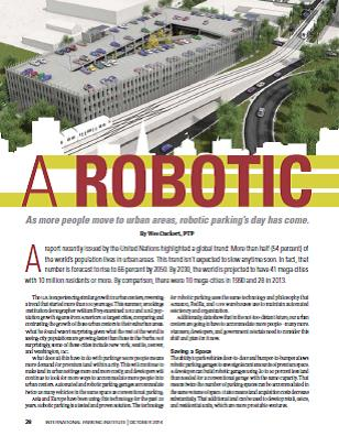 A Robotic Revolution - Parking