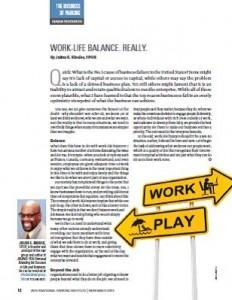 TPP-2014-11-Work-Life Balance. Really.