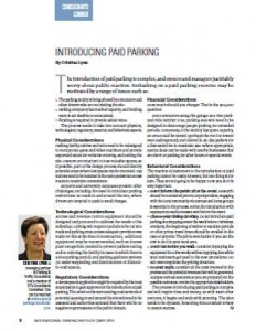 TPP-2014-05-INTRODUCING PAID PARKING