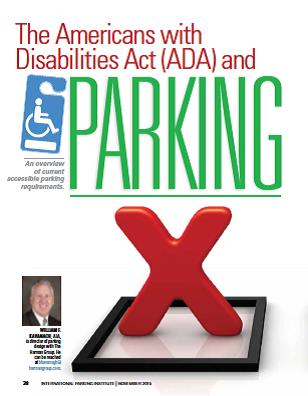 The Americans With Disabilities Act Ada And Parking Parking