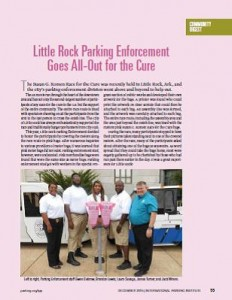 TPP-2015-12-Little Rock Parking Enforcement Goes All-Out for the Cure