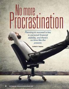 TPP-2016-01-No More Procrastination