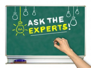 Ask The Experts concept