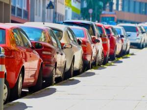 Side Road Parking in Stuttgart,Germany