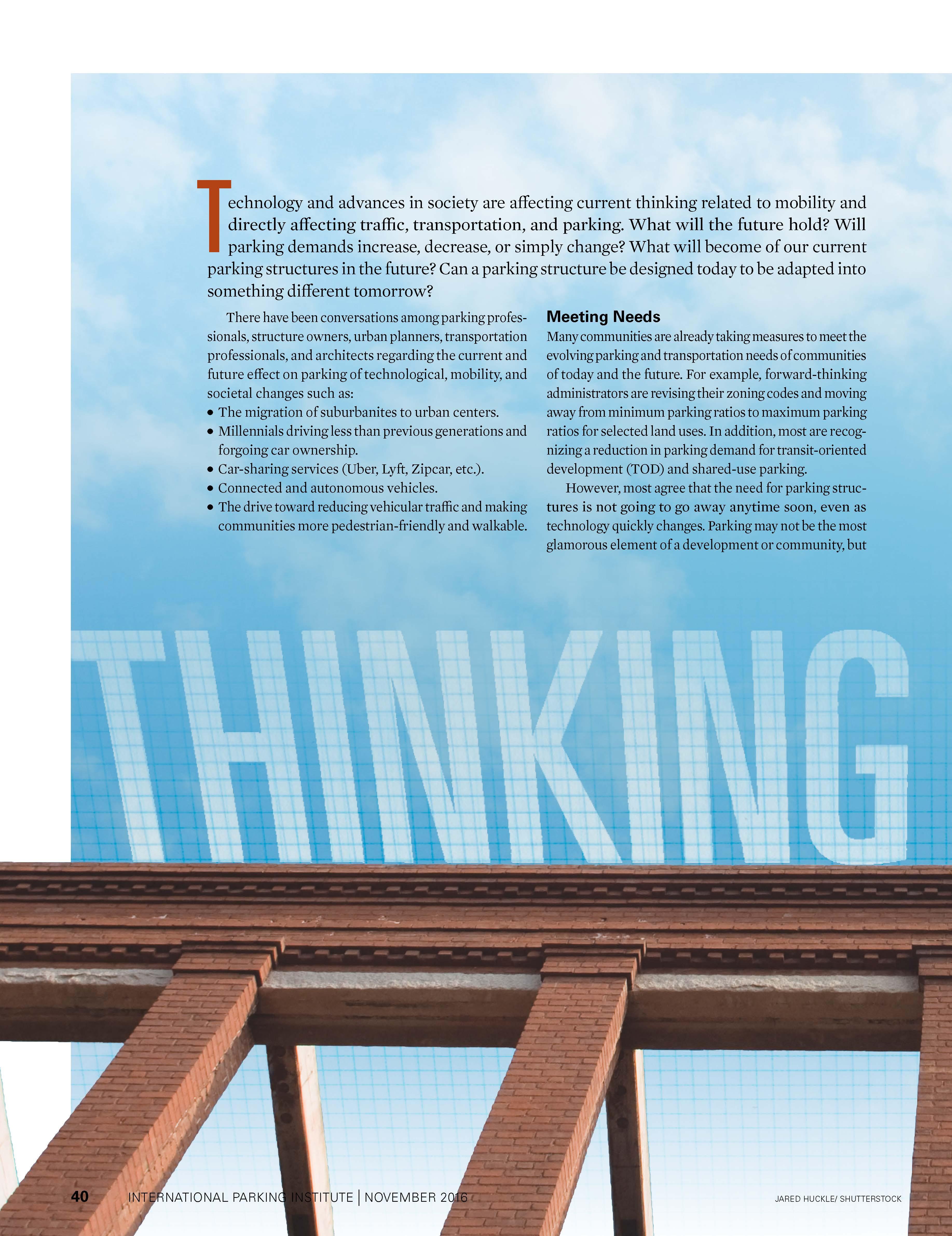 Thinking Ahead PDF Article