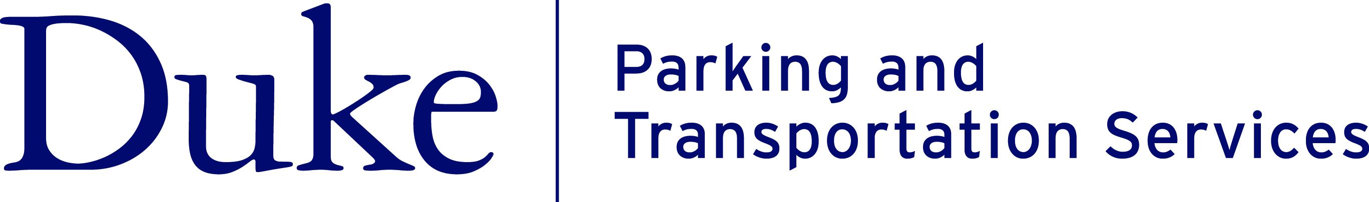 Duke Parking and Transportation Services Logo