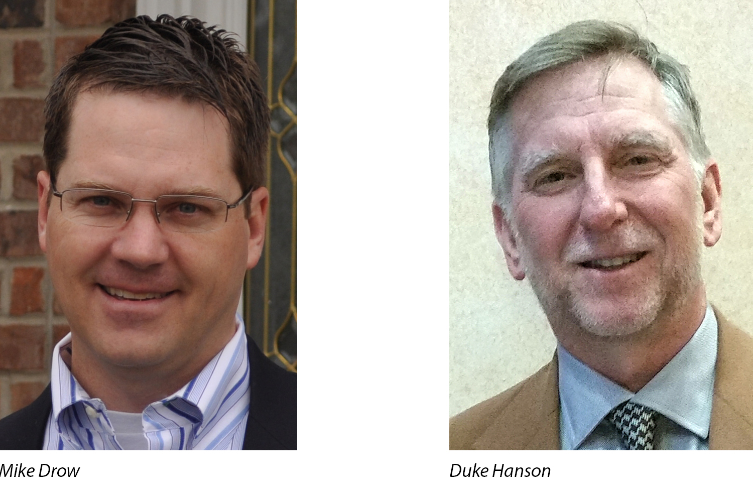 Mike Drow and Duke Hanson Receive IPI 2018 Chair Award